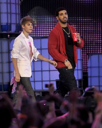 Justin Bieber and Drake Show Up to Kanye West's Toronto Concert
