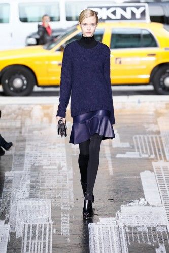 Shaft Chic: DKNY Does Up The Quintessential New York Outfit #Refinery29