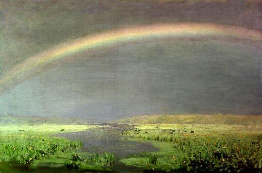 Arkhip Kuindzhi (Russian, 1842 - 1910) Rainbows