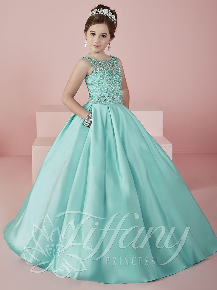 Flower Girl Vestido #13472 Lovely flower girls from tiffany collection…