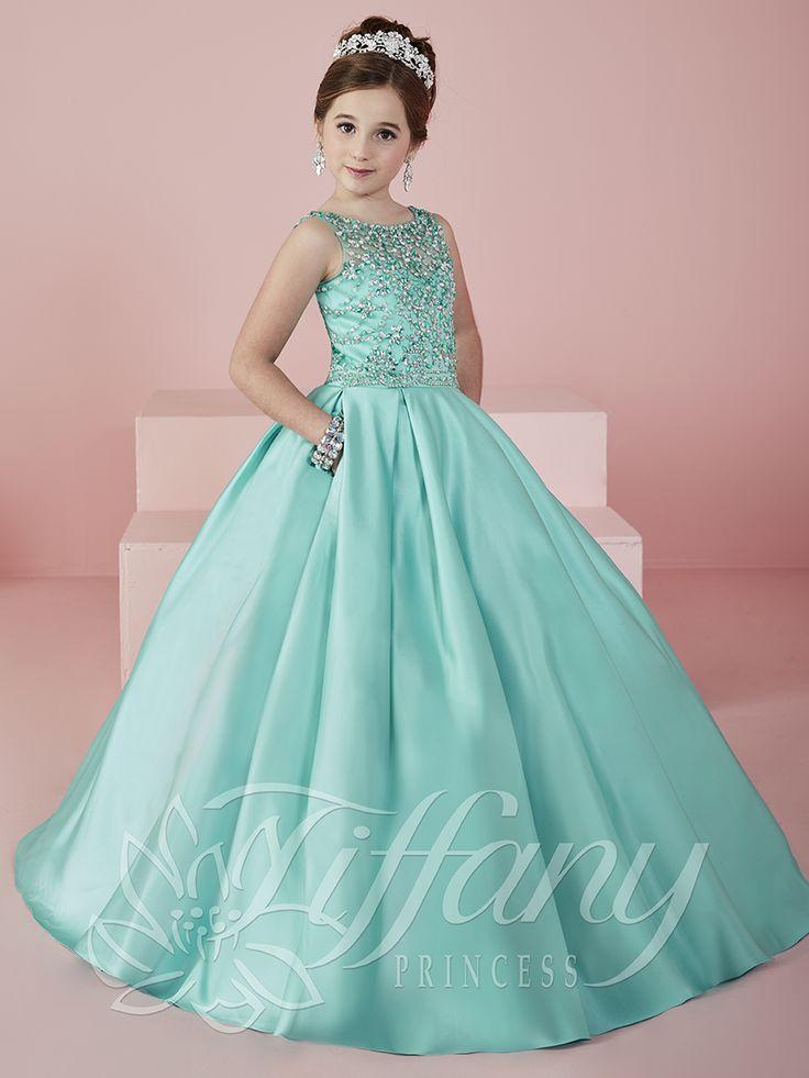 Flower Girl Vestido #13472 Lovely flower girls from tiffany collection #mipresentacion #presentaciondresses #vestidospara3años