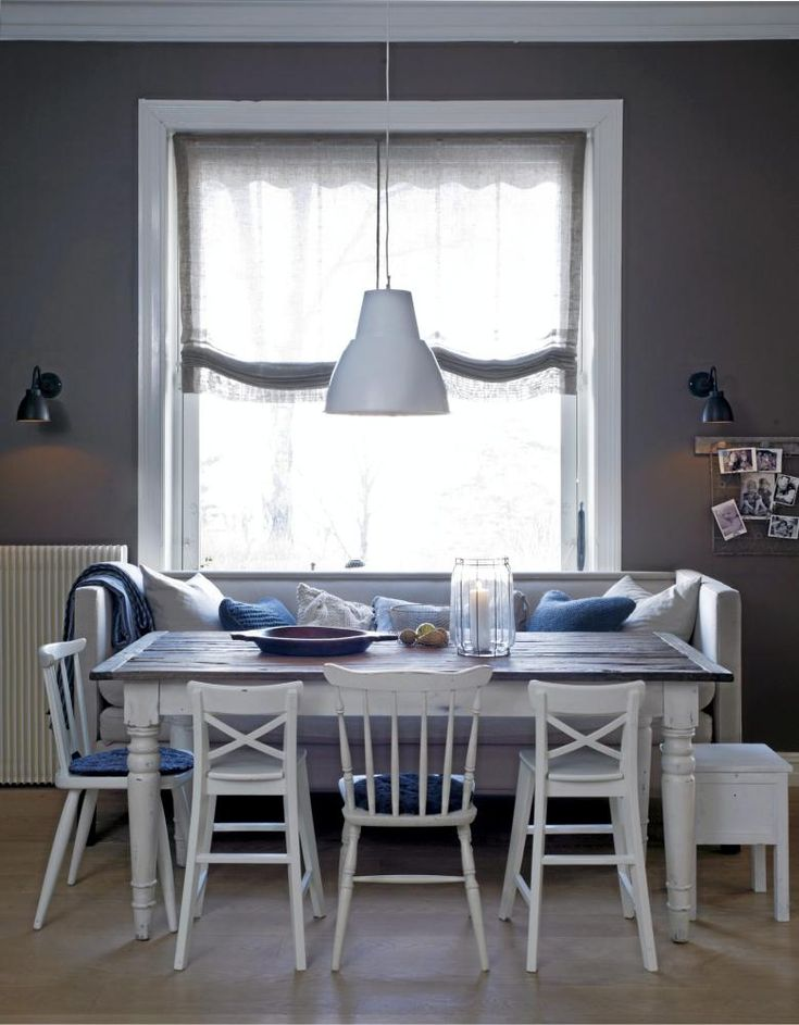 Great space saving idea. Can convert a living room into a dining area by just adding a table