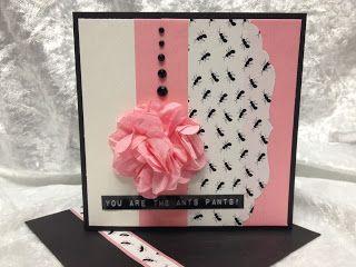 Sawyer's Place - Plain pink washi with sticky paper!  #stickypaper