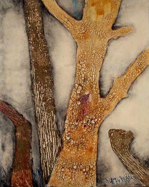 """Saatchi Online Artist Ummuhan Yilmaz; Painting, """"The Craners"""" #art"""