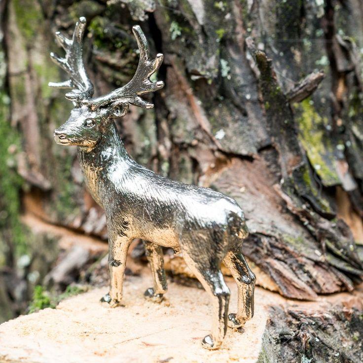 Amazon | シカの家族 イギリス製 アート フィギュア コレクション 【雄鹿 雌鹿 子鹿 セット】 | プラモデル 通販