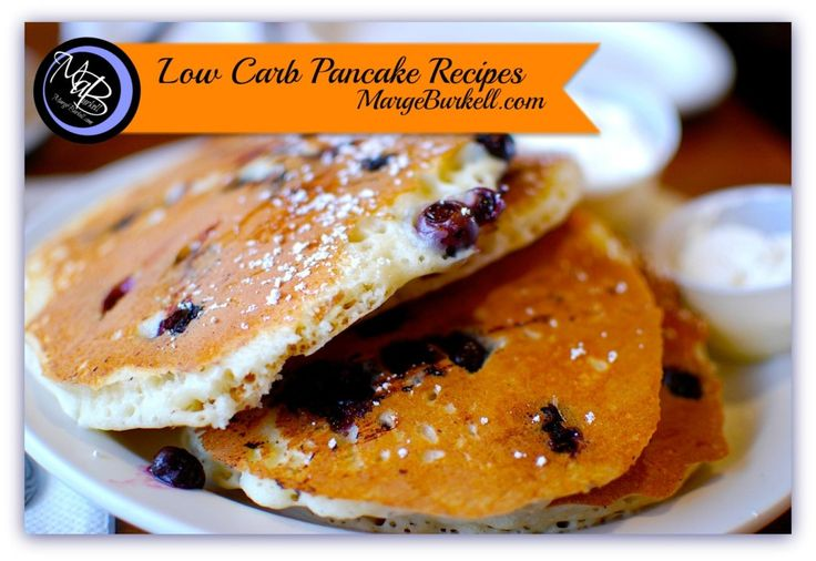 Low Carb Breakfast Pancakes