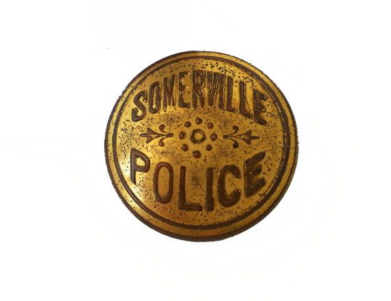 Antique Somerville Police ButtonsSet of 6 by OldSewlVintage, $88.00