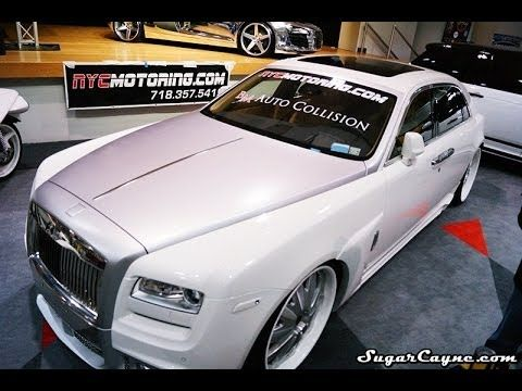 Custom Rolls Royce Ghost Body Kit