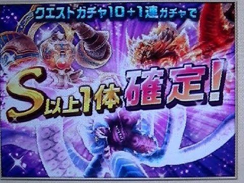 Dragon Project ドラゴンプロジェクト (ドラプロ) S以上1体確定 -10+1回 ガチャ Monster Gacha! Vol.5