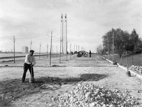 Parque Eduardo VII, 1950