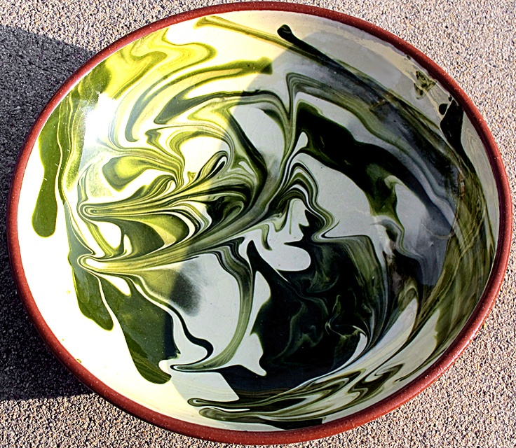 My favorite bowl that I purchased from somewhere in Southwestern France years ago...  Photo by Mark W. Patterson