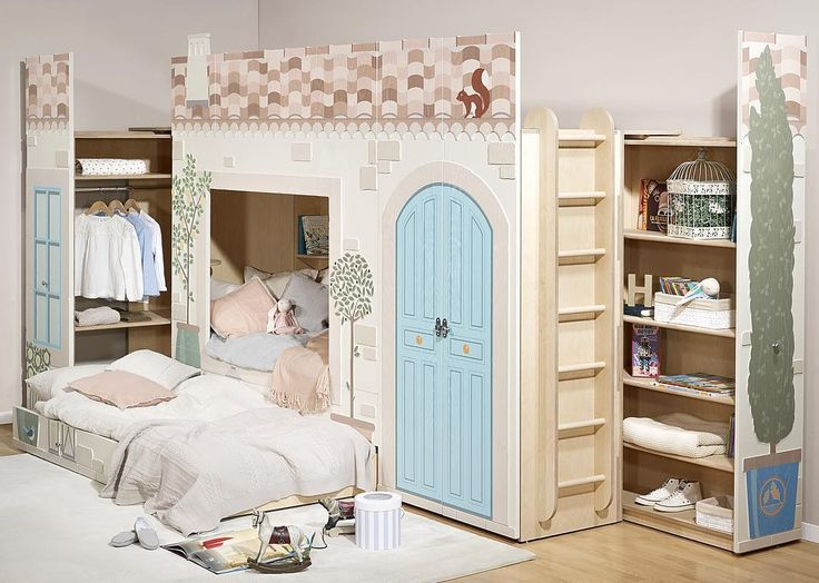 Open sesame ✨Unfortunately not the treasure of the 40 thieves...but some rather practical storage and a pull out bed. Real gold  - Young Empire - Smart Luxury Children's Furniture