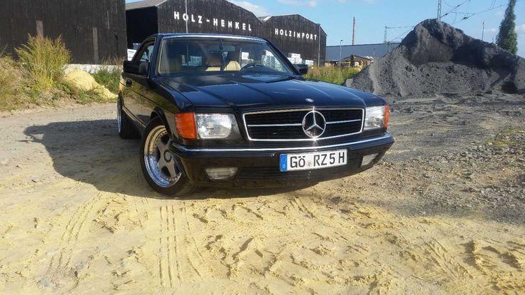 Mercedes w126 C126 Coupe Oldtimer  500er sec Zustand sehr gut voll