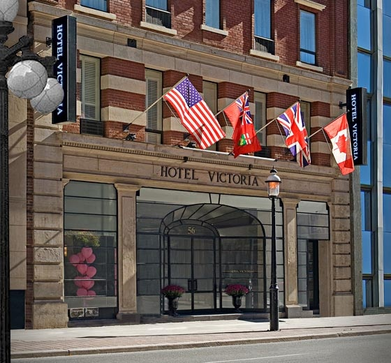 Ok current vacation! But this place is great and in the heart of  Everything!!! Downtown Toronto Hotels | Toronto Hotels | Hotel Victoria - Our Site.