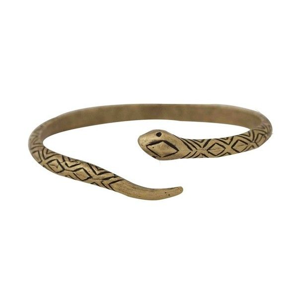 House of Harlow 1960 Jewelry Snake Cuff (6.230 RUB) ❤ liked on Polyvore featuring jewelry, bracelets, brass, accessories, cuff bangle, engraved jewelry, pave jewelry, house of harlow 1960 and engraved bangle