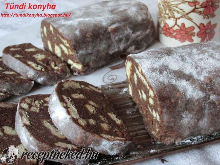 A legjobb Keksz szalámi recept fotóval egyenesen a Receptneked.hu gyűjteményéből. Küldte: Tundi konyha