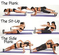 ¿Tienes el estómago flácido? ¡Apunta estos ejercicios!