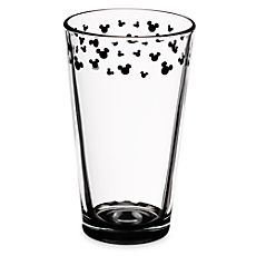 Mickey Mouse Icon Glass Tumbler 6 or 9 of them