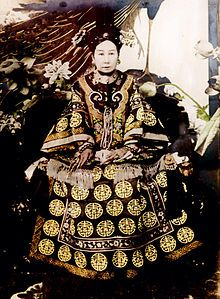 Empress Dowager Cixi, or Empress Dowager Tzu-hsi (29 November 1835 – 15 November 1908), of the Manchu Yehenara clan, was a powerful and charismatic woman who unofficially but effectively controlled the Manchu Qing Dynasty in China for 47 years, from 1861 to her death in 1908.
