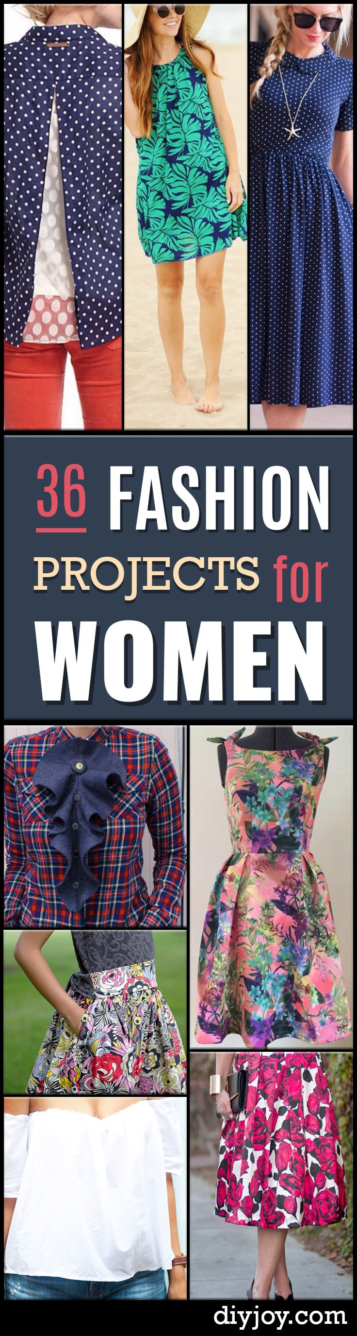 36 Sewing Project for Women's Fashion