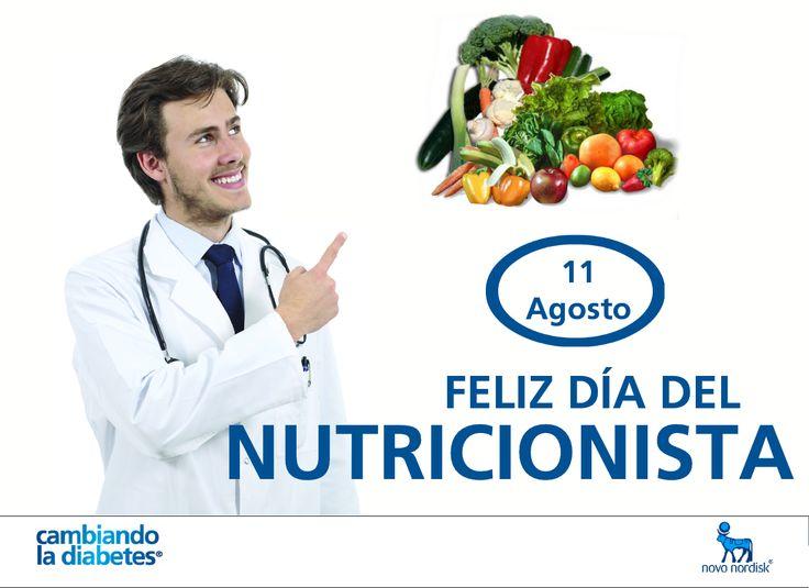 Saludamos a esos profesionales de la salud que se preocupan por orientarnos a todos hacia un estilo de vida saludable. Felicitaciones hoy en el #DíaDelNutricionista