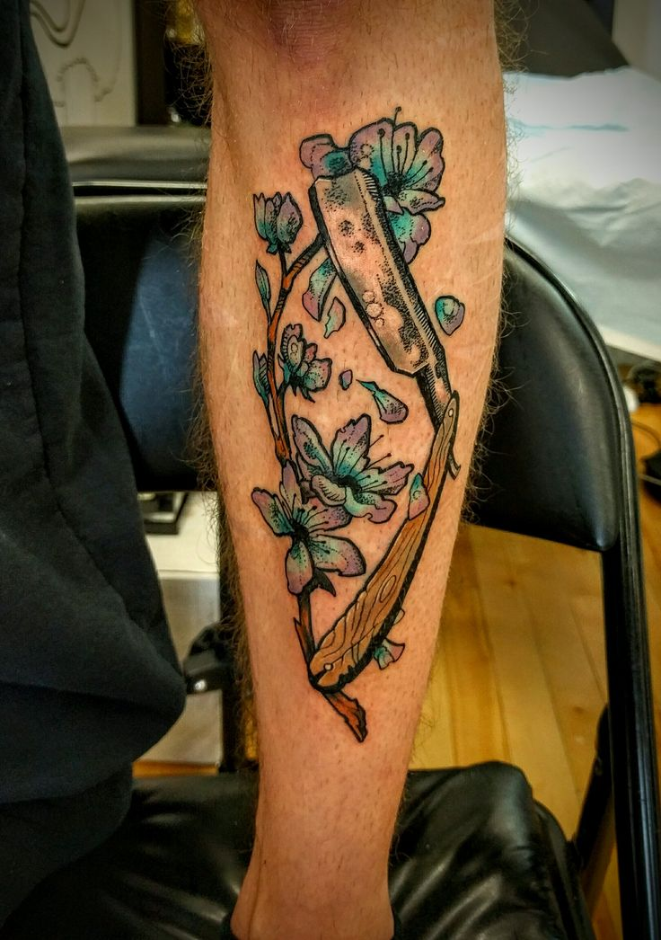 227 best images about skin deep on pinterest david hale for Straight edge razor tattoo