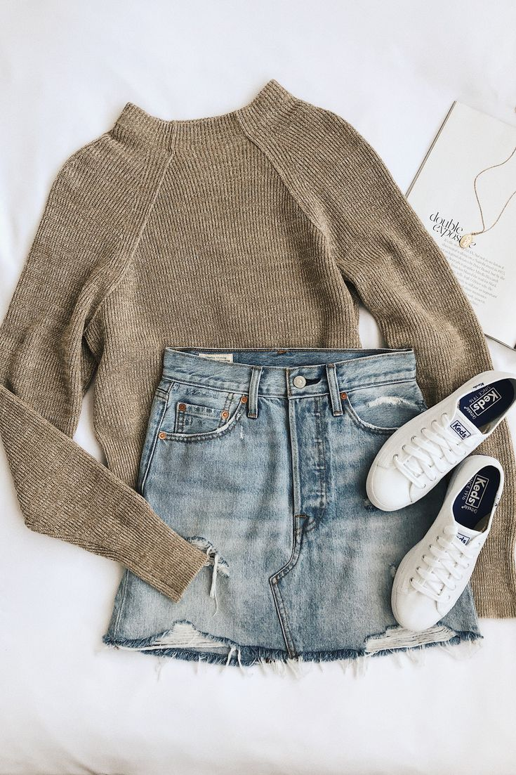 Too Good Heathered Beige Knit Pullover Sweater