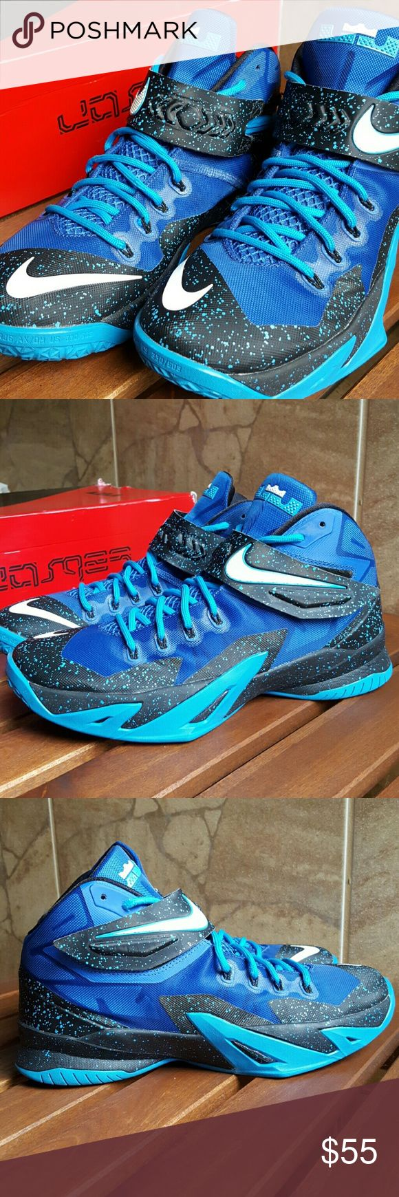 Nike Zoom Soldier VIII LeBron James Original box included Nike Shoes Sneakers