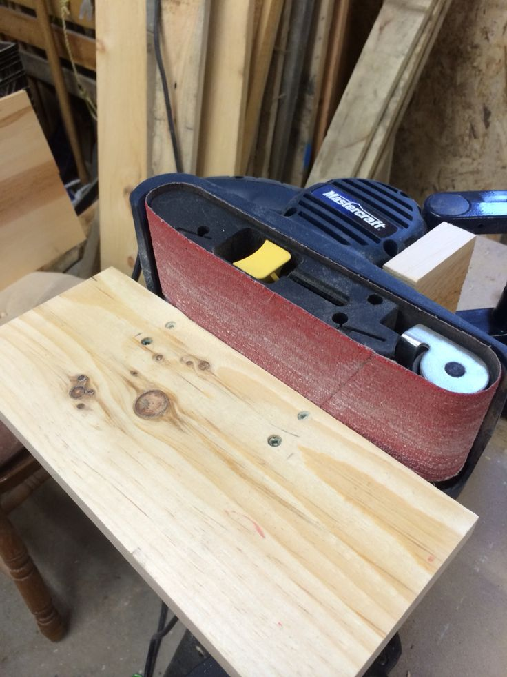 Portable Belt Sander Stand Woodworking Projects Amp Plans