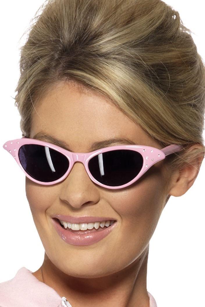 Womens Pink Ladies Jacket 1950s 50s Grease Adult Girls Fancy Dress UK 4-22