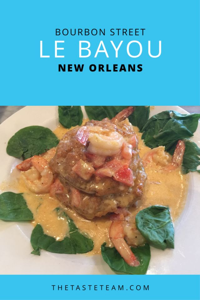 Le Bayou Bourbon Street New Orleans LA