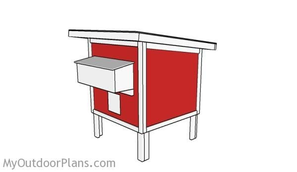 Free Chicken Coop Plans | MyOutdoorPlans | Free Woodworking Plans and Projects, DIY Shed, Wooden Playhouse, Pergola, Bbq