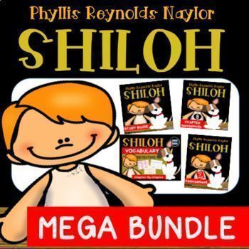 This Mega Bundle includes everything you need to teach the novel, Shiloh, by Phyllis Reynolds Naylor. Excellent for differentiated instruction and guided reading!Bundle includes:50 page Student Study Guide Comprehension Questions 110 Vocabulary Detective