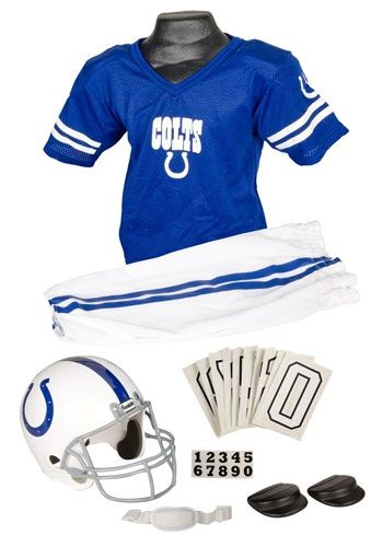 NFL Colts Uniform Costume-thinking that my son needs this! :)