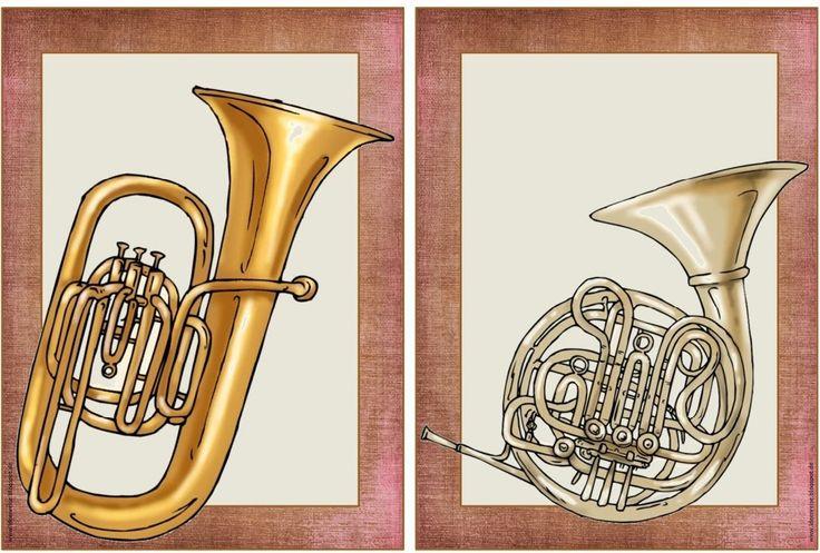 Bildkarten für Blasinstrumente      Heute gibt es etwas für den Fachbereich Musik. Oft benötigt manfür Instrumentenkunde oder Werkhören sc...