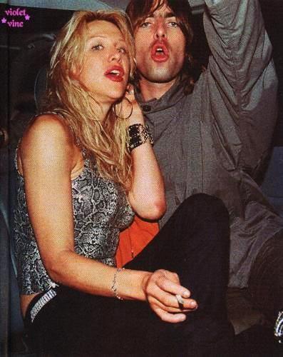 Courtney Love / Liam Gallagher
