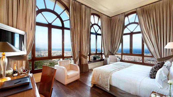 Gran Hotel La Florida en Barcelona | Splendia - http://pinterest.com/splendia/