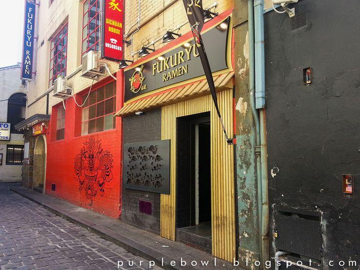 Purple bowl: Fukuryu Ramen restaurant review