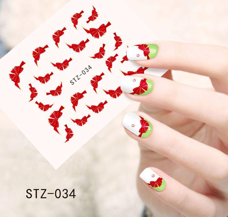 Купить товар1 шт. мода красный галстук бабочку воды украшения искусства французский советы по красоте полный обертывания переводные картинки поставки STZ034 в категории Наклейки и переводные картинкина AliExpress.                          Покупатель чтения:                         1. этот способ доставки явля