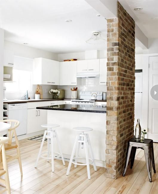 35 Modern Interior Design Ideas Incorporating Columns Into: 25+ Best Ideas About Kitchen Island Pillar On Pinterest