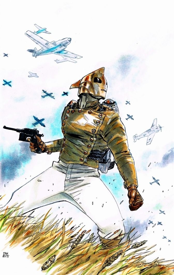 The Rocketeer by Clay Mann