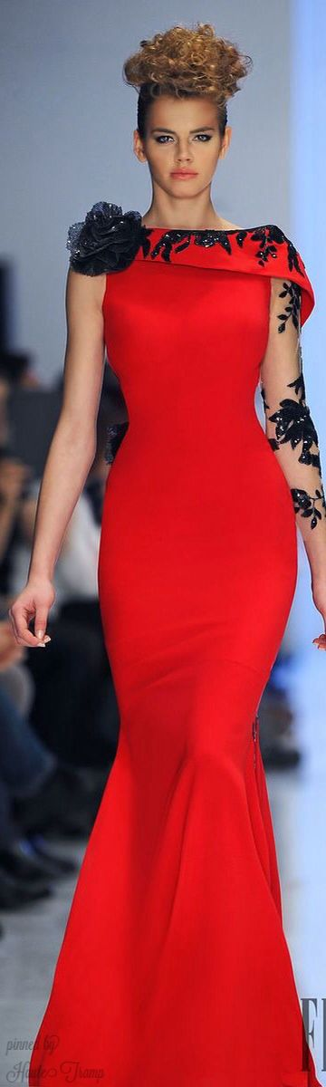 Fouad Sarkis Spring summer 2014   Couture