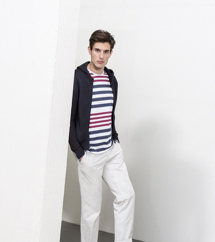 Some outfit ideas for Spring? #AlphaStudio cotton cardigan tricot & double color striped shirt   #knitwear #SS2015 #menswear #fashion #tricot #cardigan #color #cotton #shirt #idea #instagood #instafashion #glam #picoftheday #outfit #outfitoftheday #springtime #spring #stitch #gauge #yarn #florence