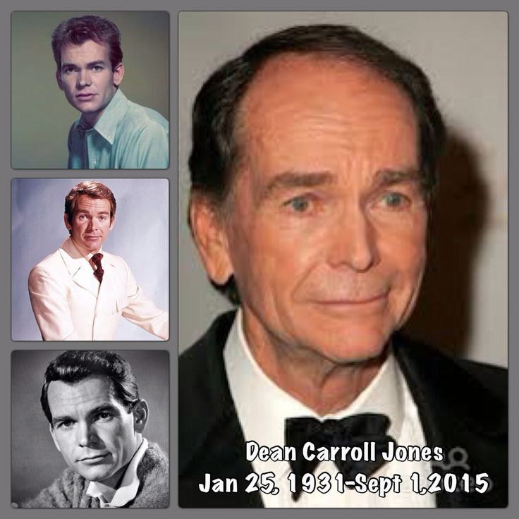 Dean Jones Actor Young