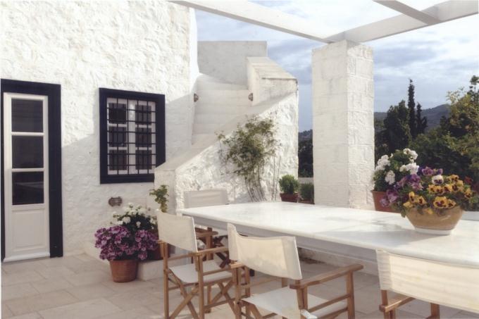 traditional veranda..