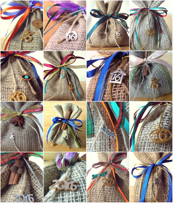 May creativeness be with you!! This was what I was talking about for my new project, using this homemade potpourri recipe! My new 2016 lucky charms-burlap pouches, stuffed with this homemade mixtur...