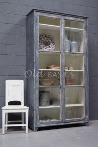 Landelijke vitrinekast | Old BASICS