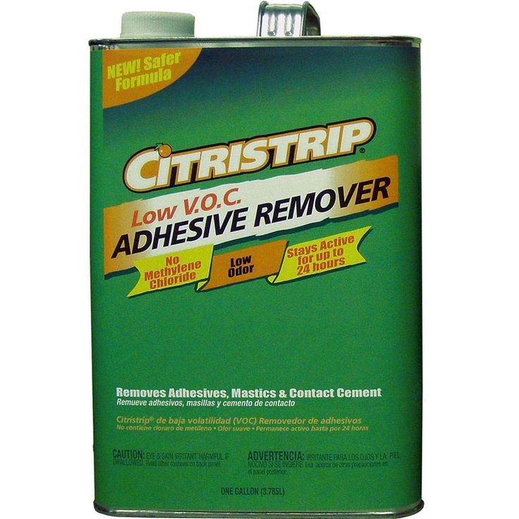 Removing your floor's preparing for your new planks | CitriStrip | Adhesive Remover