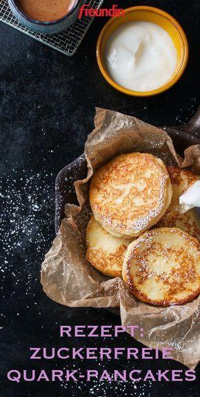 Rezept: Zuckerfreie Pfannkuchen aus Quark und Haferflocken   – kuchen und co