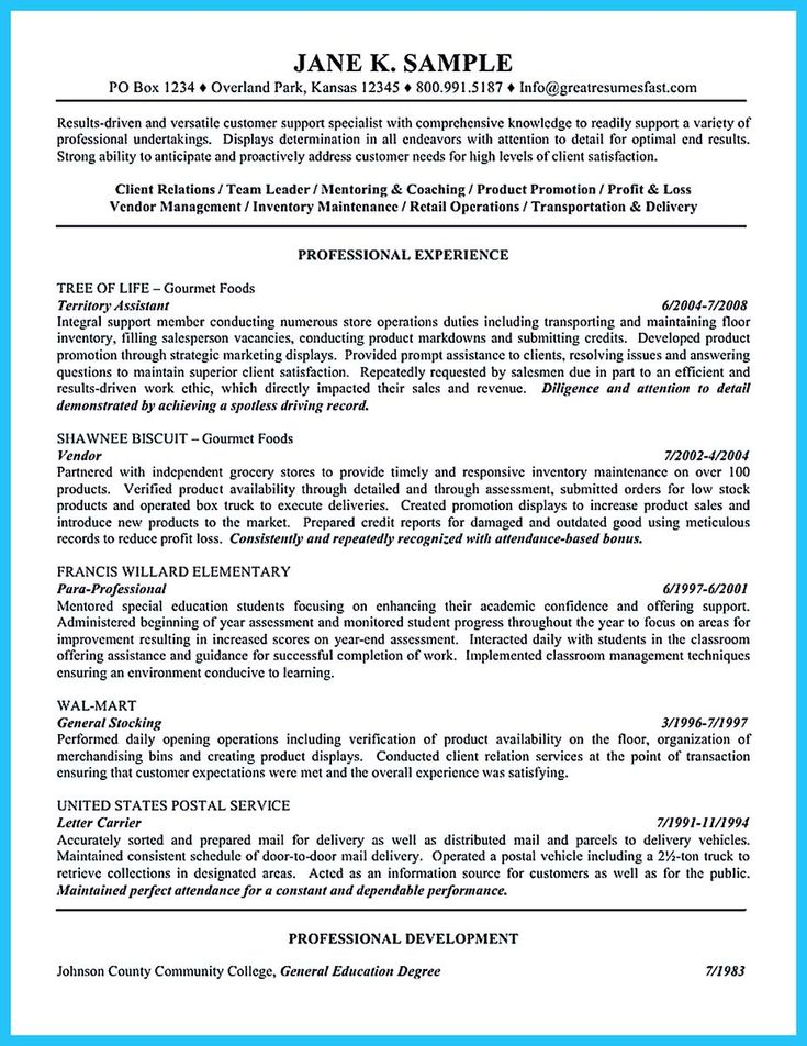 awesome Crafting a Great Assistant Store Manager Resume,